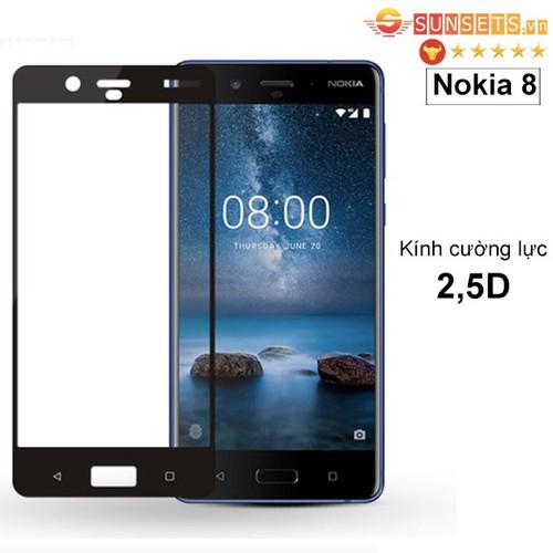 Kính cường lực Nokia 8