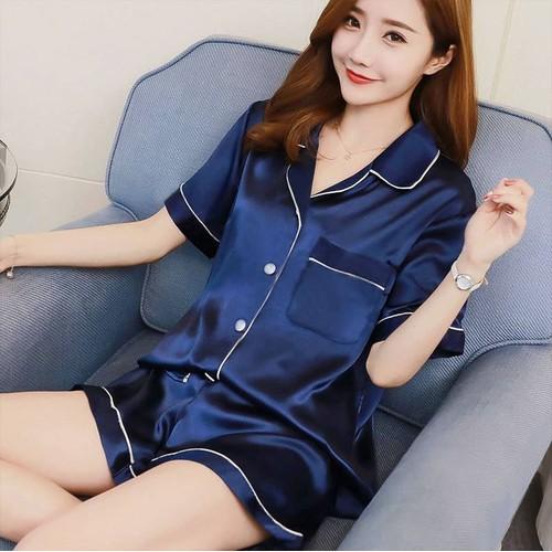 Pijama lụa đồ mặc nhà cao cấp