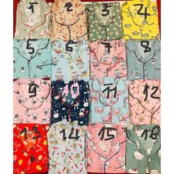 Đồ Bộ Mặc Nhà Pijama Ngắn Thái Lan Chất Liệu Vải Mịn Mát