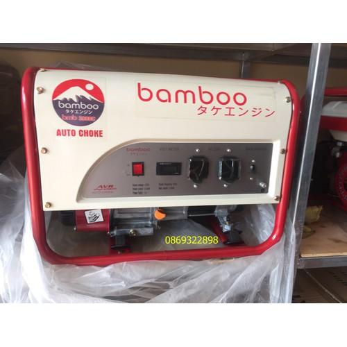 Máy phát điện  bmb 3800C 3kw,xăng,giật tay