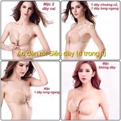 Áo ngực dán có dây rút tặng kèm dây trong