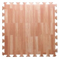 Thảm xốp lót sàn vân gỗ cho bé 60x60x1cm