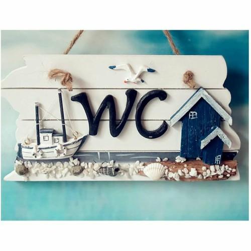 Bảng treo WC hình ngôi nhà ven biển - 5952087 , 10036981 , 15_10036981 , 90000 , Bang-treo-WC-hinh-ngoi-nha-ven-bien-15_10036981 , sendo.vn , Bảng treo WC hình ngôi nhà ven biển