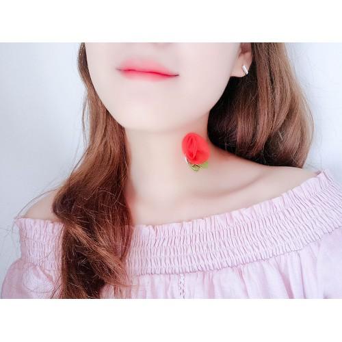 Vòng Cổ Chocker 5D Hoa Hồng Nữ Tính