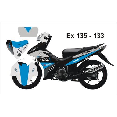 Tem Trùm Decal Exciter 135 Petronas Xanh Xám - 5958876 , 10046410 , 15_10046410 , 299000 , Tem-Trum-Decal-Exciter-135-Petronas-Xanh-Xam-15_10046410 , sendo.vn , Tem Trùm Decal Exciter 135 Petronas Xanh Xám