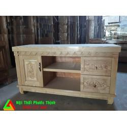 Kệ tủ tivi gỗ sồi