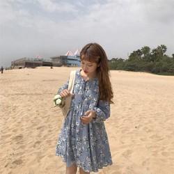 Đầm baby doll hoa