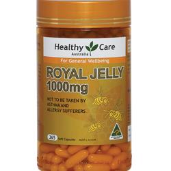 Sữa Ong chúa Royal-Jelly HealthyCare 1000mg của Úc