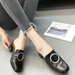 Giày Mules cao cấp hàng xuất khẩu