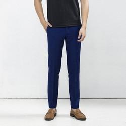 Quần âu nam vải cao cấp màu xanh coban