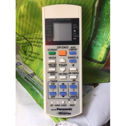 Điều khiển điều hoà Panasonic inverter,2chieu