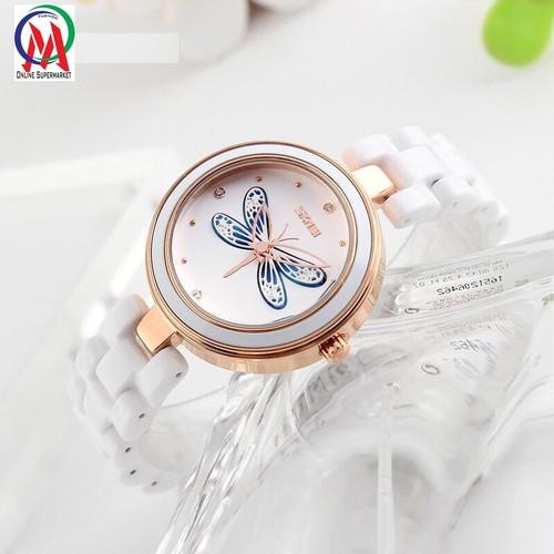 Đồng hồ Nữ Skmei OM9131 Chuồn Chuồn - Xanh Dương