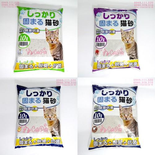 [Hương Phấn Baby] Cát vệ sinh Nhật Bản Cat Litter 10L dành cho mèo - 5969572 , 10062101 , 15_10062101 , 110000 , Huong-Phan-Baby-Cat-ve-sinh-Nhat-Ban-Cat-Litter-10L-danh-cho-meo-15_10062101 , sendo.vn , [Hương Phấn Baby] Cát vệ sinh Nhật Bản Cat Litter 10L dành cho mèo