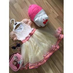 Đầm ren công chúa cao cấp