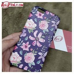 Ốp lưng Iphone 6 | 6s hoa châu Âu sang trọng in vân nổi chính hãng My