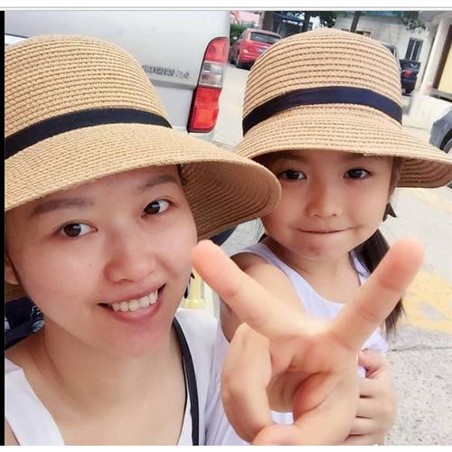 mũ cặp đôi mẹ và bé, nón cặp mẹ và bé vành nhỏ, mũ đi biển đẹp