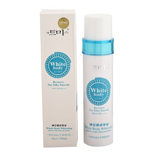 Xịt trắng da White Body ALL SKIN RESTORES THE SILKY SMOOTH