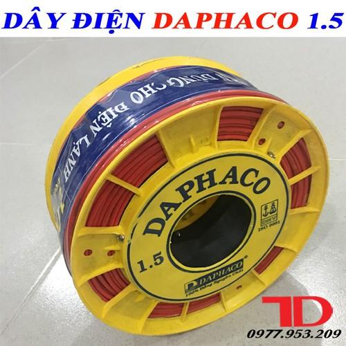 DÂY ĐIỆN ĐƠN DAPHACO 1.5 - 100 MÉT - 5970317 , 10063238 , 15_10063238 , 380000 , DAY-DIEN-DON-DAPHACO-1.5-100-MET-15_10063238 , sendo.vn , DÂY ĐIỆN ĐƠN DAPHACO 1.5 - 100 MÉT