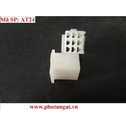 Nhựa đầu ĐỰC 9P 2.8 - 1 bịch 10 cái