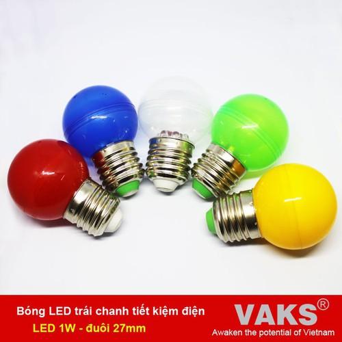 Bộ 10 Bóng led trái chanh tiết kiệm điện - 1W -  đuôi vặn e27