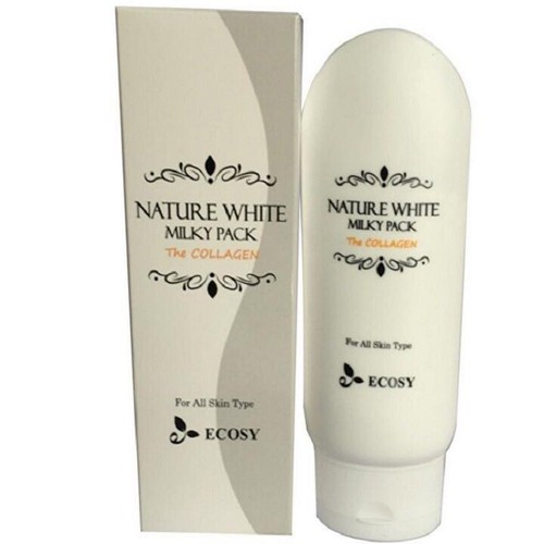 KEM DƯỠNG TRẮNG BODY NATURE WHITE MILKY PACK THE COLLAGEN ECOSY 150ML