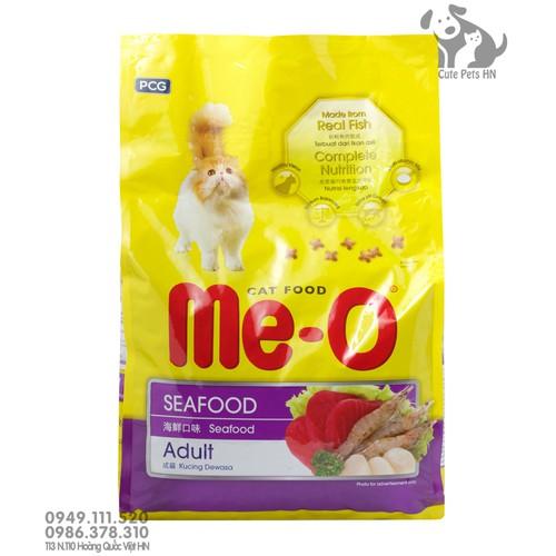 [Vị hải sản] Thức Ăn Cho Mèo lớn Me-O Adult 1.2kg - Cutepets