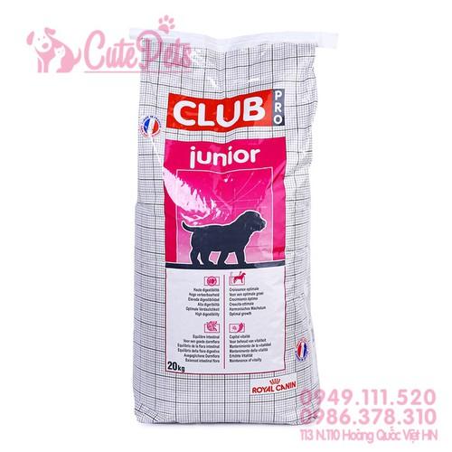 ? Thức ăn cho chó RoyalCanin Club Pro Junior A3 Bao 20Kg