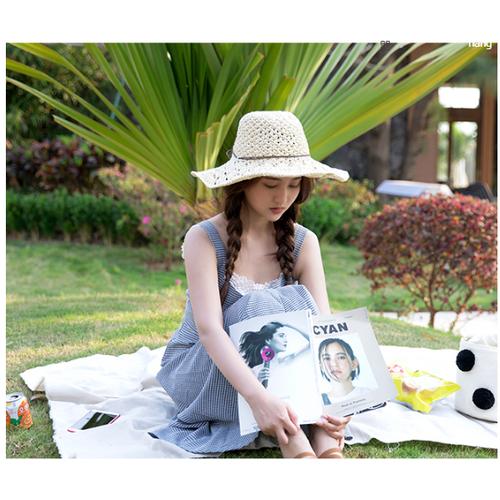 mũ cói móc thời trang, nón cói cao cấp, mũ rộng vành đi biển - 5961515 , 10051253 , 15_10051253 , 130000 , mu-coi-moc-thoi-trang-non-coi-cao-cap-mu-rong-vanh-di-bien-15_10051253 , sendo.vn , mũ cói móc thời trang, nón cói cao cấp, mũ rộng vành đi biển