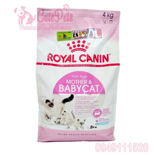 Thức ăn mèo con Canin BabyCat 34 Bao 4Kg - CutePets
