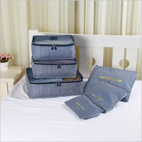Bộ 6 túi đựng đồ du lịch tiện ích với nhiều kích thước