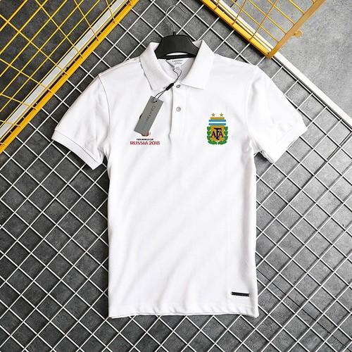 Áo Thun Cổ Bẻ Argentina World Cup 2018