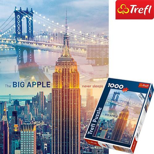 Tranh ghép hình TREFL 10393 - 1000 mảnh Rạng đông ở New York
