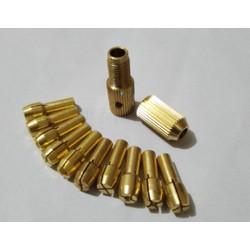 Bộ 10 Đầu Kẹp Mũi Khoan Trục 3.17mm