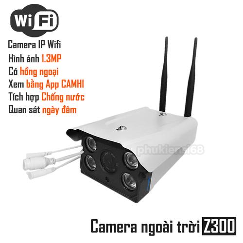 Camera IP Camhi Z300 ngoài trời chống nước LED Auto