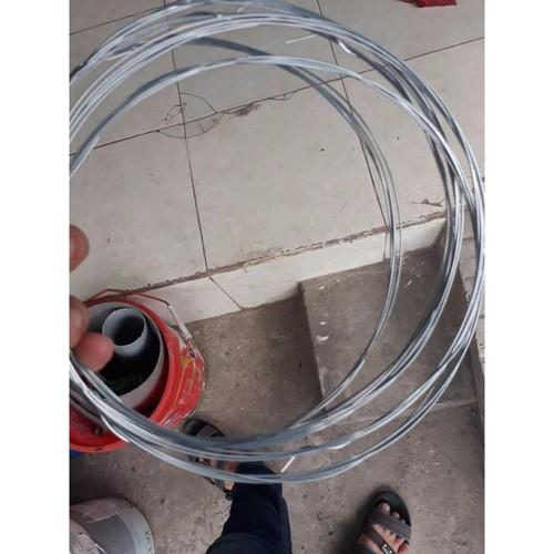 Bộ 5 cuộn kẽm buộc 2mm  Độ dài 3 - 4m  cuộn  - Huy Tưởng