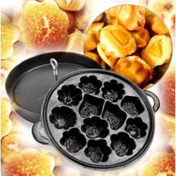 khuôn làm bánh bông lan chống dính -12 khuôn