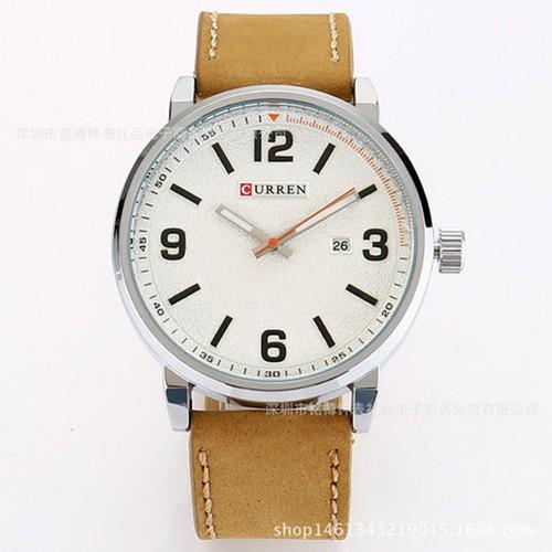 Đồng hồ nam dây da cao cấp CURREN 8218 D1804, hàng có sẵn, 5 màu