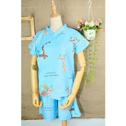 Đồ bộ, pijama nữ mặc nhà Kimono Kate Thái - Hươu Cao Cổ - Dưới 60kg