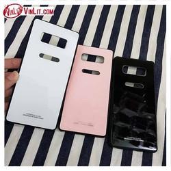 Ốp lưng Samsung Note 8 ốp mặt kính sau cường lực chống trầy sang trọng