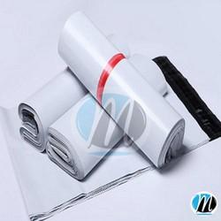 Túi nylon gói hàng chuẩn cho các shop 17x30cm Trắng