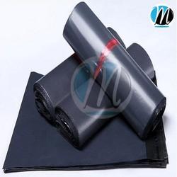 Túi nilon gói hàng cho các shop online, thời trang 20x35cm Đen