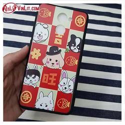 Ốp lưng Huawei Y7 Prime hình chó thỏ gấu dễ thương