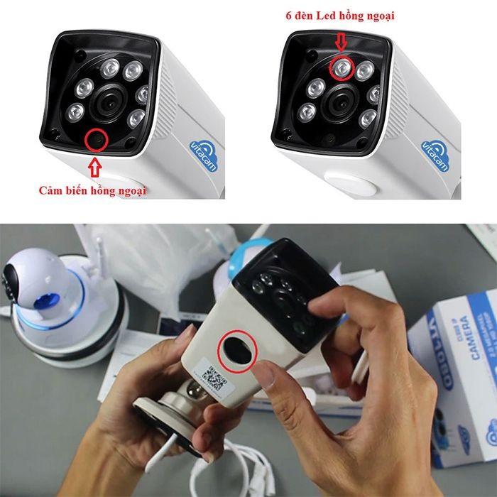 Camera thân ngoài trời Vitacam VB1080 Full HD 1080 7