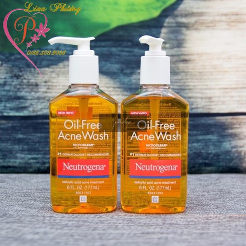 Sữa rửa mặt trị mụn Neutrogena Oil-free Acne Wash 177ml - 5987148 , 10083761 , 15_10083761 , 195000 , Sua-rua-mat-tri-mun-Neutrogena-Oil-free-Acne-Wash-177ml-15_10083761 , sendo.vn , Sữa rửa mặt trị mụn Neutrogena Oil-free Acne Wash 177ml