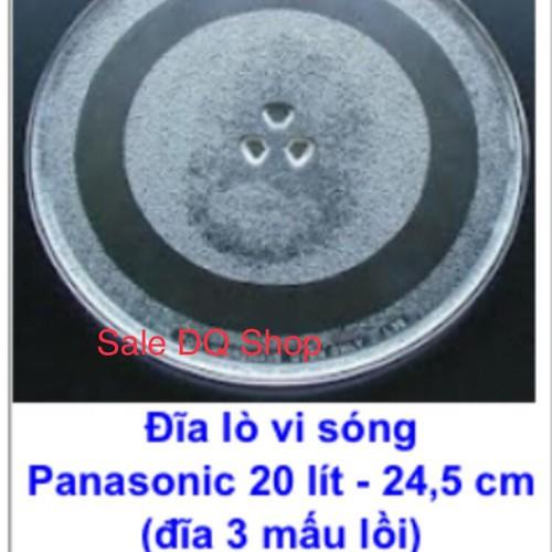 Đĩa thuỷ tinh lò vi sóng cao cấp chính hãng Panasonic