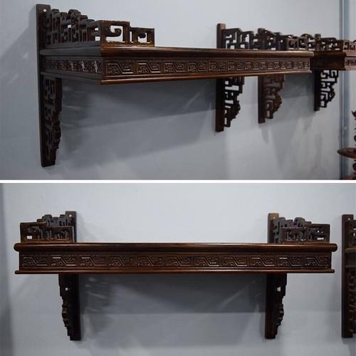 Bàn thờ gỗ treo tường đẹp HH-B24-68 cao cấp