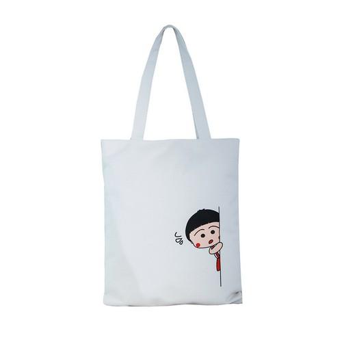 Túi Vải Đeo Vai Tote Bag Bé Nấp XinhStore