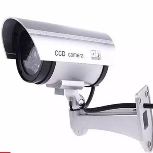 Camera Mô Hình Chống Trộm Có Led Tặng Pin