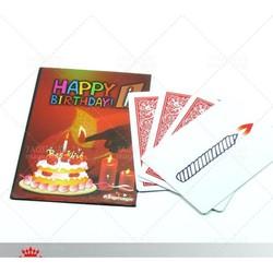 Đồ chơi ảo thuật: Bài sinh nhật