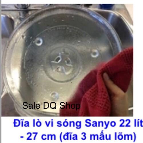 Đĩa thuỷ tinh lò vi sóng cao cấp chính hãng Sanyo - 5994533 , 10091308 , 15_10091308 , 185000 , Dia-thuy-tinh-lo-vi-song-cao-cap-chinh-hang-Sanyo-15_10091308 , sendo.vn , Đĩa thuỷ tinh lò vi sóng cao cấp chính hãng Sanyo